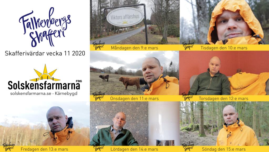 Solskensfarmarna - Skafferivärdar vecka 11, 2020